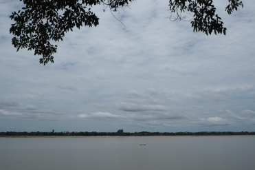 Champasak - Mekong river view