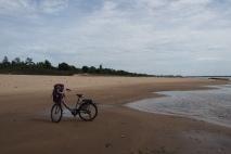 Stranded on Don Daeng Island Beach