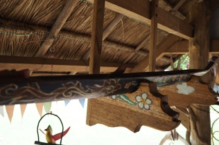 Handicraft - boat carving and painting