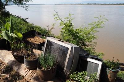 Mekong river gardening