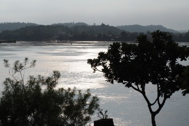 Morning light on the Mekong