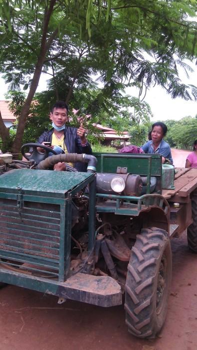 Transport to Ban Kiet Ngong