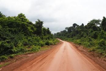 Road to Ban Kiet Ngong