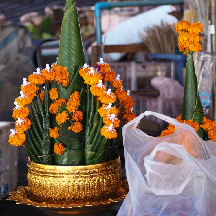 Flowers for the temple