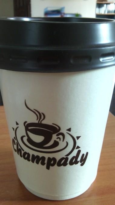 Take away coffee@Champady