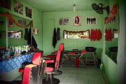 Beauty saloon in Pakse