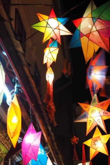 Lanterns everywhere
