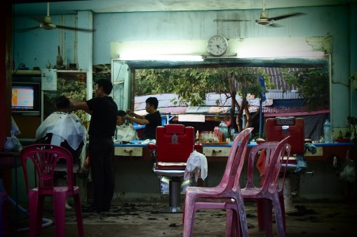 Hairdresser in Pakse centre