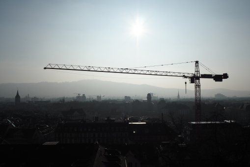 View from ETH Zurich