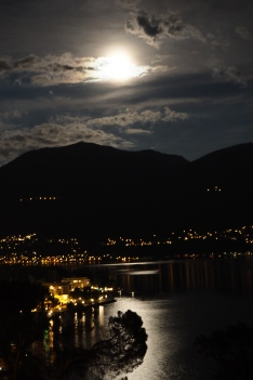 Moonlight over Ascona