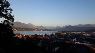 Autumn evening in Lucerne