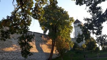 Lucerne's city wall