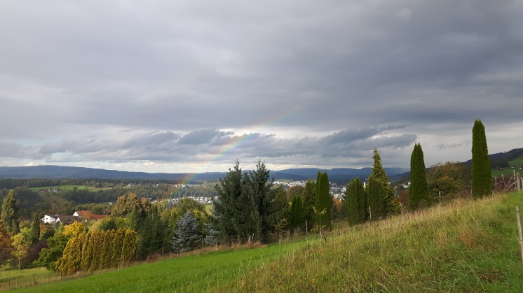 Rainbow in Ebikon